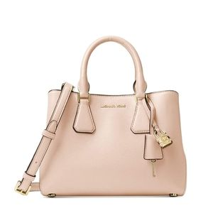 Micheal Kors Leather Camille Satchel Bag
